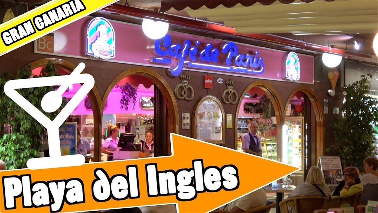 Playa del Ingles - Maspalomas Gran Canaria Spain: Evening and nightlife