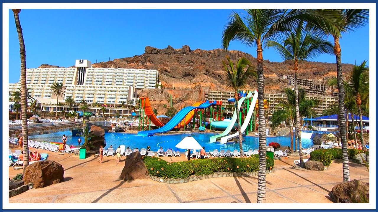 Taurito Gran Canaria Hotels & Water Park 👨👩👧👦 March 2020💥