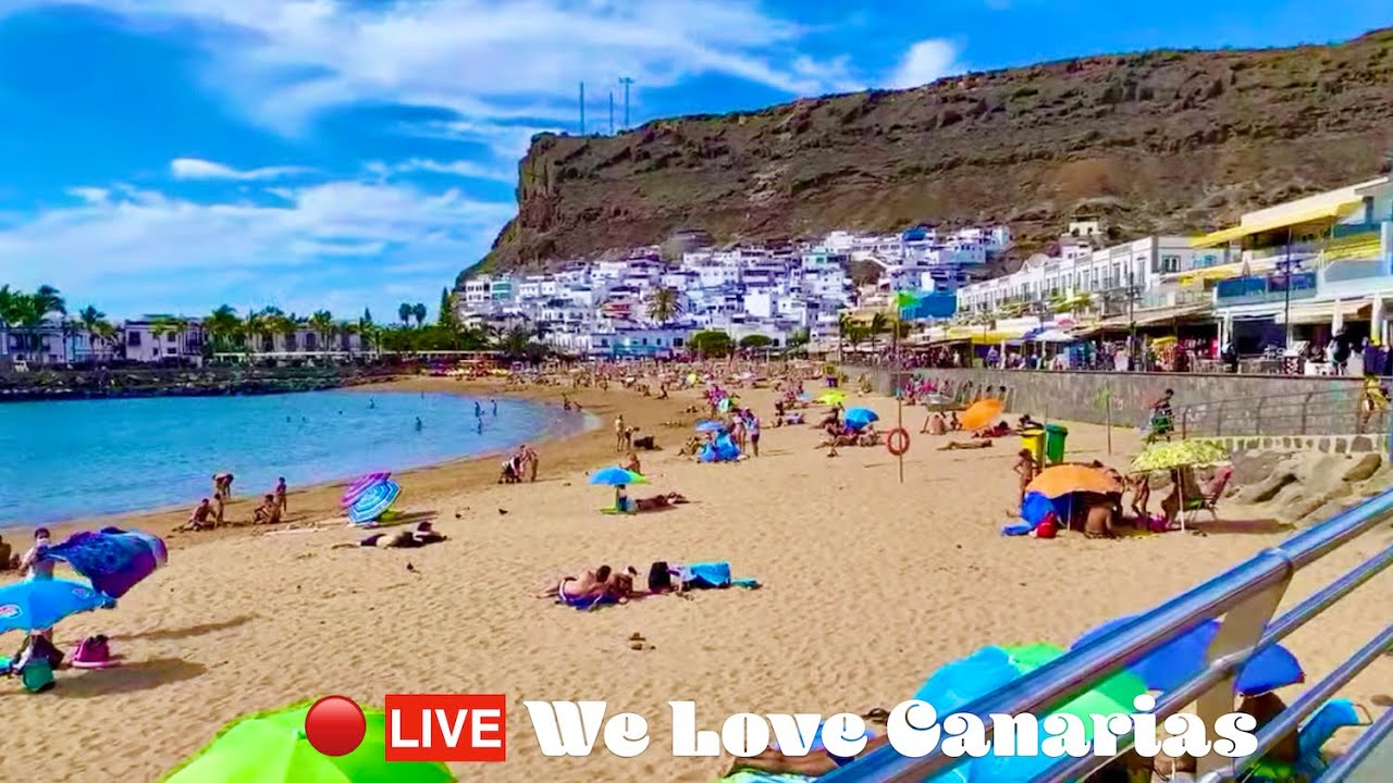 Gran Canaria Live 🔴 … Today Puerto de Mogan Sunday Excursion 😍