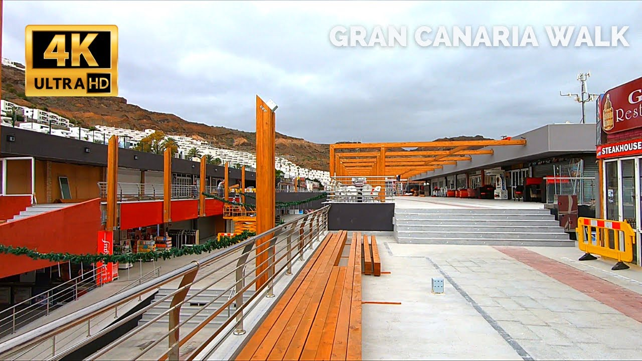 Gran Canaria Puerto Rico Shopping Centre Refurbishment 👍 Update January 4, 2021