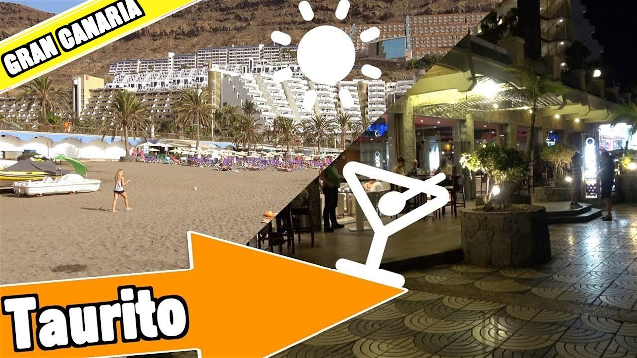 Taurito Gran Canaria Spain: Beach, resort and nightlife